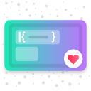 Fuchsia KWGT - Gradient Based Widgets