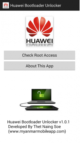 تحميل APK لأندرويد - آبتويد Huawei Bootloader Unlocker1 0 1