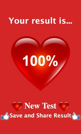 The Real Love Test