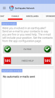 🚨 Earthquake Network Pro - Realtime alerts Screen