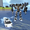 X Robot Car : Shark Water Icon