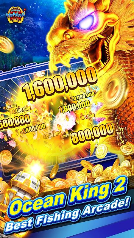 Slots (Golden HoYeah) - Casino Slots screenshot 1