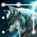 Wolf Pattern Lock Screen