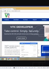 VNC Viewer screenshot 1