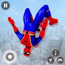 Superhero Games- Flying Superhero Spider Rope Hero