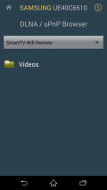 Smart TV Remote Control + DLNA Screenshot