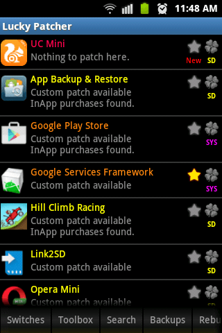 Lucky Patcher 658 pour Android