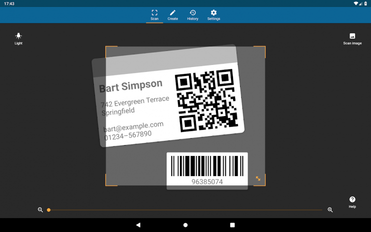 QRbot: QR code reader and barcode reader 2 2 7 Download APK