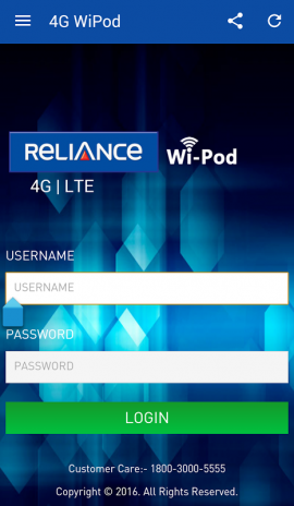 Reliance 4G Wipod App 2 5 Download APK for Android - Aptoide
