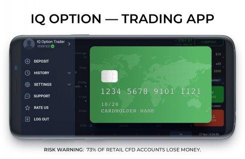 IQ Option broker: trade forex, CFD�s, bitcoin screenshot 10