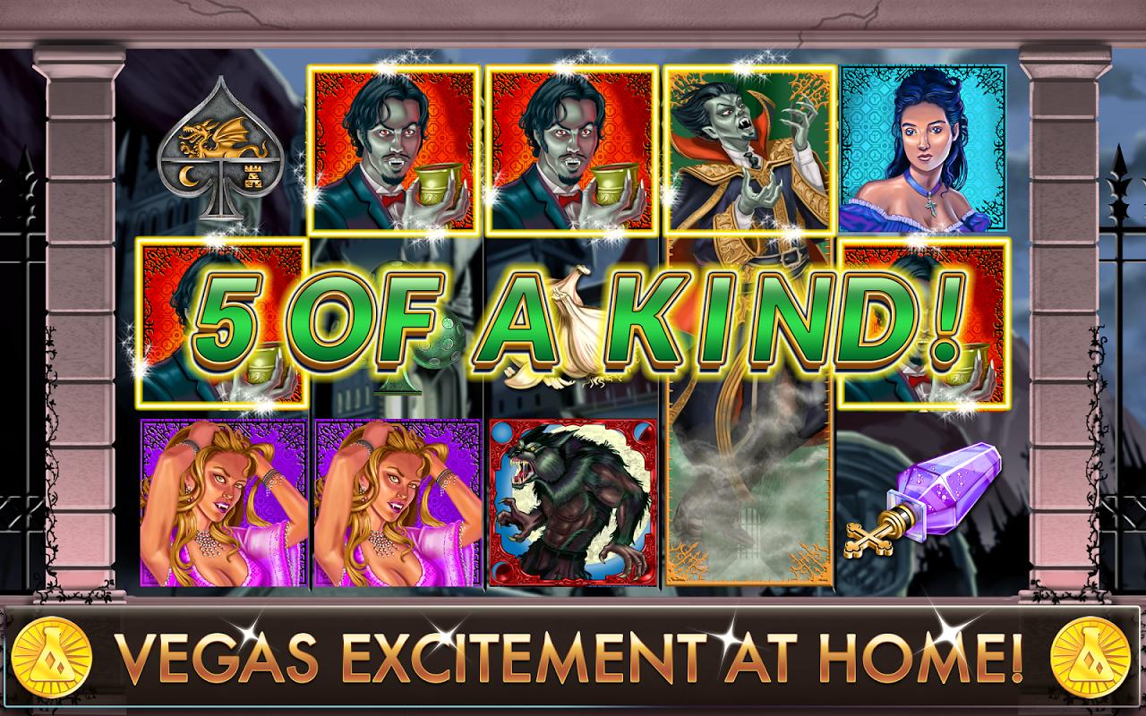 Slots - Dracula's Casino screenshot 1