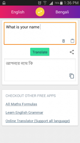 Bengali English Translator 4 Download APK for Android - Aptoide