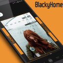 BlackyHome for Klwp