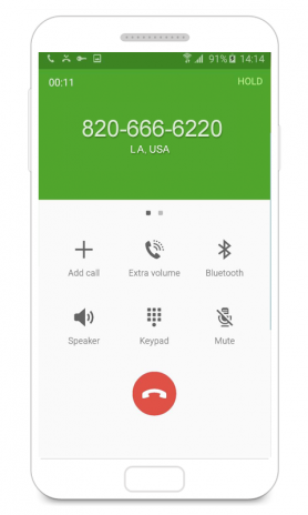 fake call app android