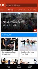Msn Health Fitness Workouts Captură De Ecran 6