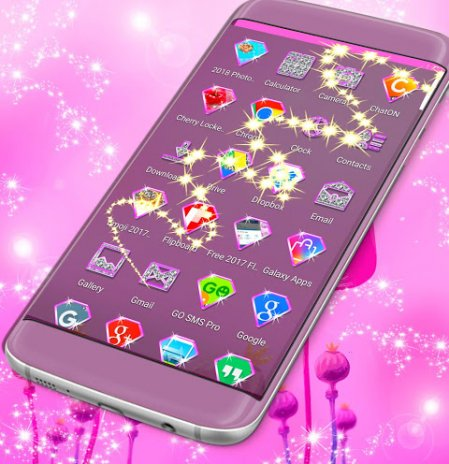 Pink Flower Launcher 2018 1 264 13 31 Download APK for Android - Aptoide