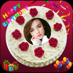 Happy Birthday Cake Photo Editor Icon
