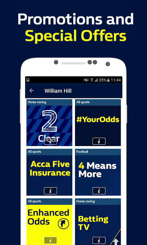 William Hill Sportsbook - WilliamHill 7 1 9 Download APK