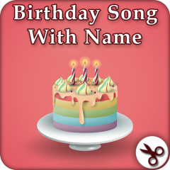 How to send happy birthday song with their name for free? Youtube.