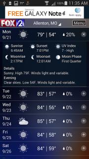 Fox 2 St Louis Weather screenshot 2