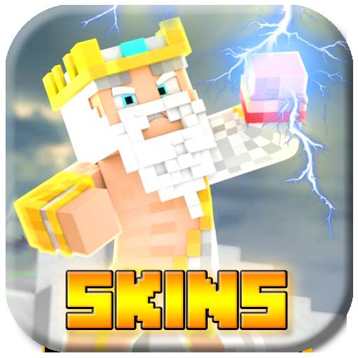 Gods Skins for Minecraft Pocket Edition ( MCPE )