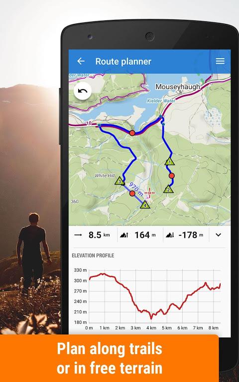 Locus Map Free - Outdoor GPS navigation and maps screenshot 2