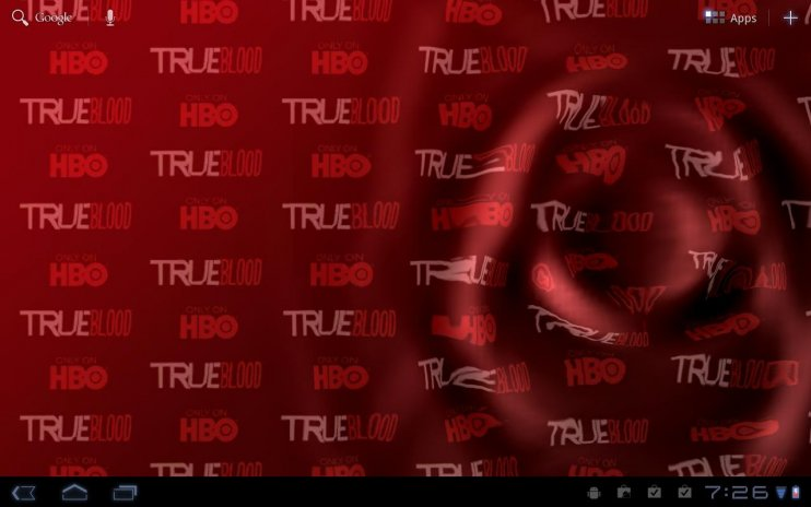 True Blood Live Wallpaper Screenshot 3