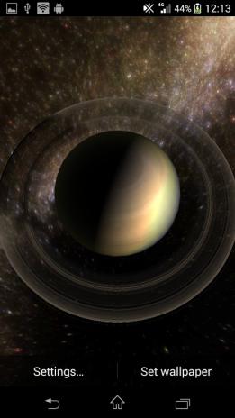 Planets Live Wallpaper 7