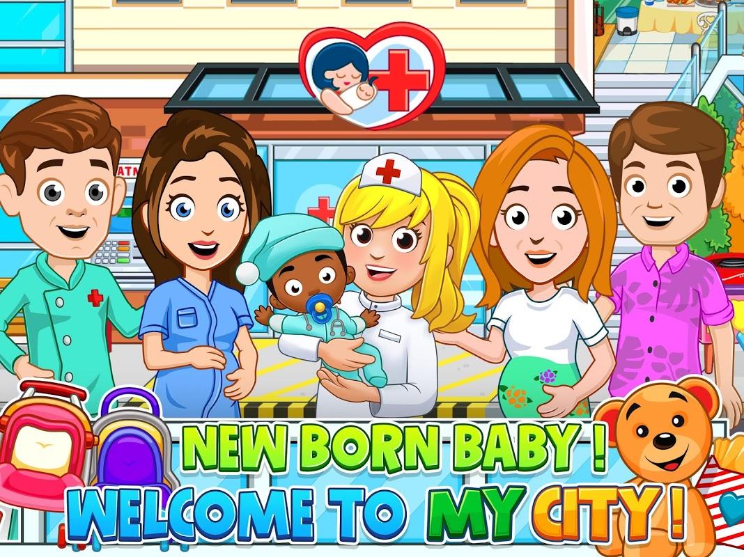 My City : Newborn baby screenshot 1
