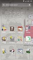 Snoopy Theme Screen