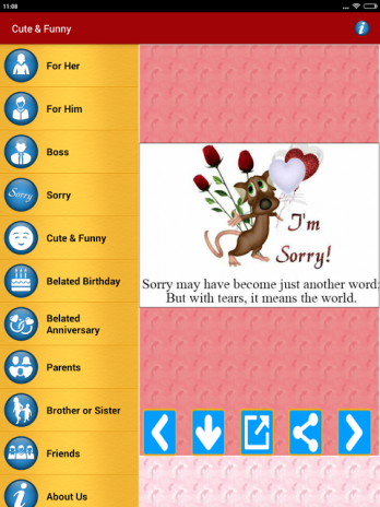 Sorry cards messages greetings 12 download apk for android aptoide sorry cards messages greetings screenshot 21 m4hsunfo