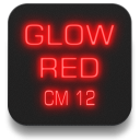 Glow Red CM13 CM12/12.1 Theme