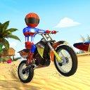 Beach Bike Stunts Ramp Bike Racing Game