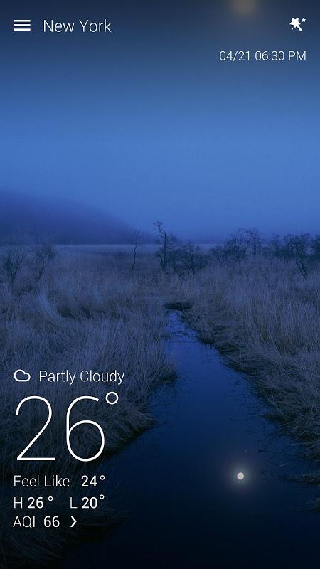GO Weather Previsão & Widgets screenshot 1