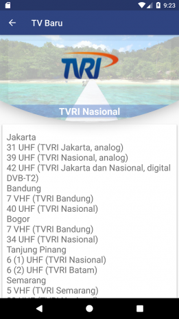 TV Indonesia Antena 1 0 2 Download APK for Android - Aptoide