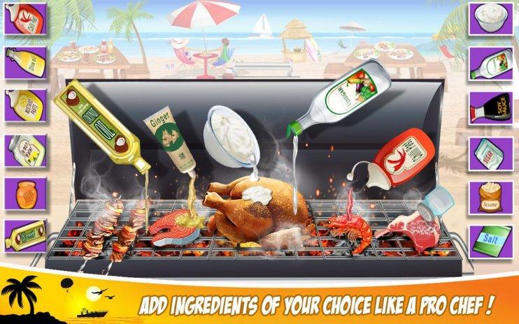 Super Chef Beach Bbq Cocina Historia Juegos Cocina 1 0 7 Descargar