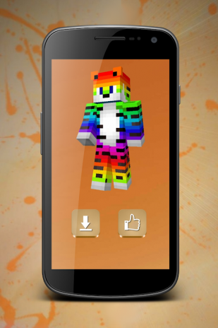 Cool Skins For Minecraft Download APK For Android Aptoide - Skins para minecraft 1 8 9