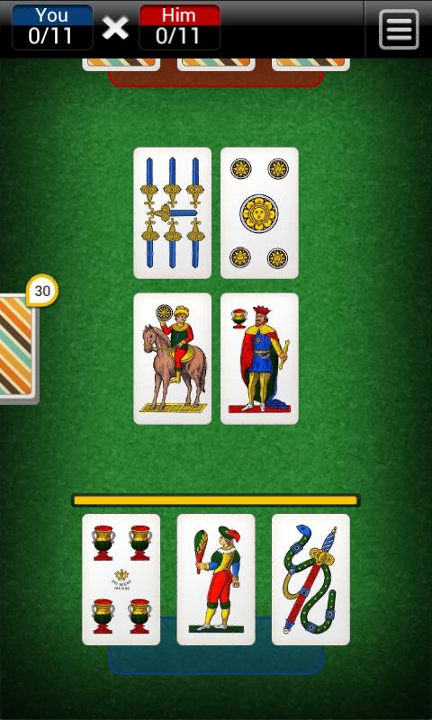 Scopa screenshot 1