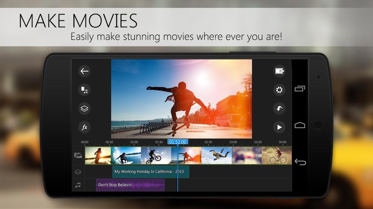 PowerDirector Video Editor App: 4K, Slow Mo & More screenshot 1