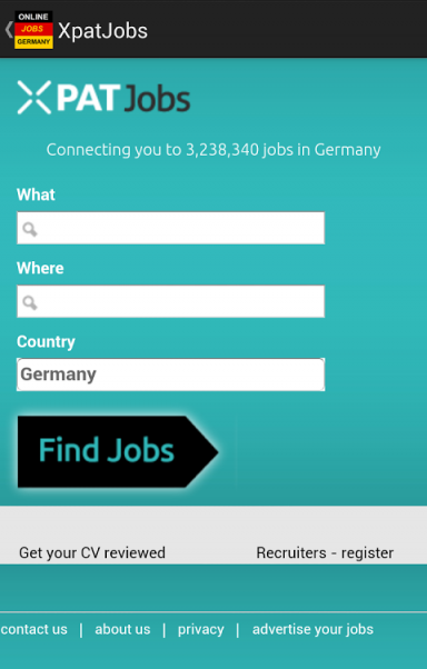 jobs in germany berlin download apk for android aptoide. Black Bedroom Furniture Sets. Home Design Ideas