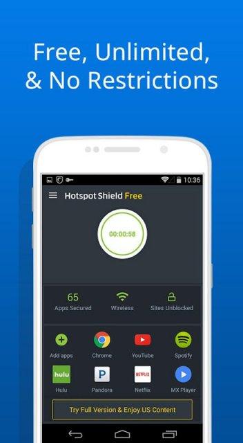 hotspot shield full apk