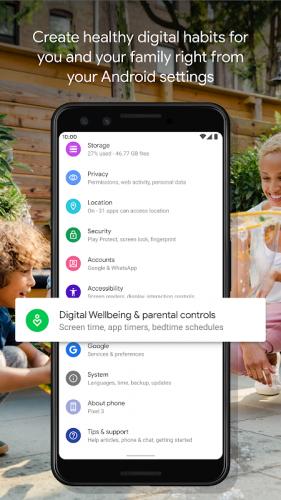 Digital Wellbeing screenshot 2