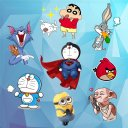 Cartoon Stickers for Whatsapp
