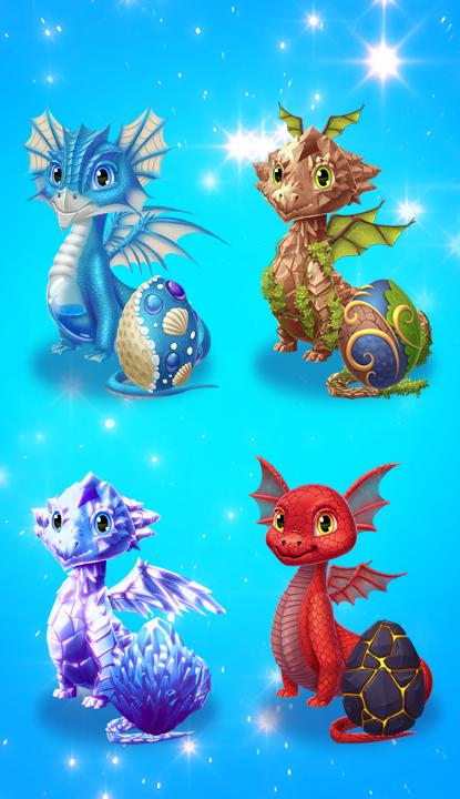 Dragon Eggs Surprise screenshot 1