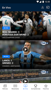 FOX Sports Latinoamérica screenshot 1