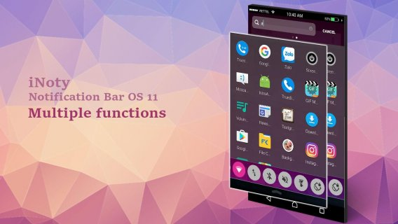 iNoty : Notification bar OS 11 1 4 5 44 Download APK for Android