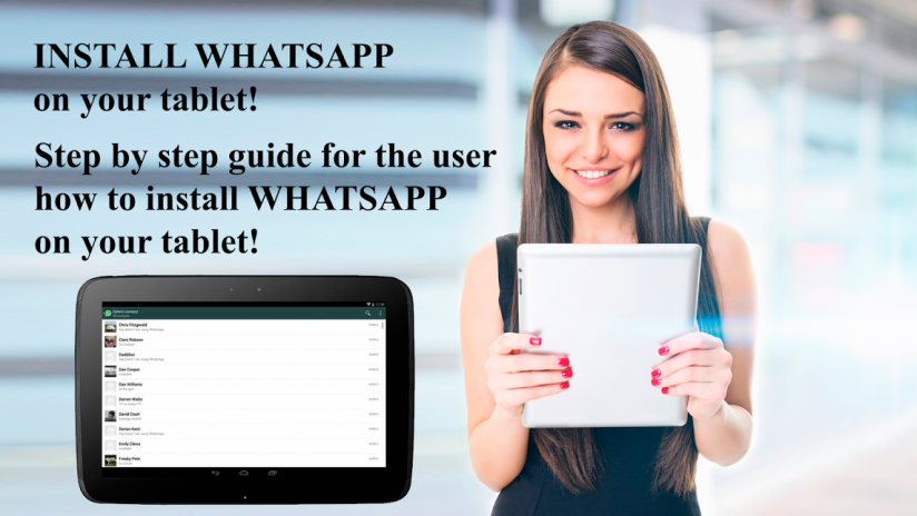 Install WhatsApp on tablet 2 0 Изтегляне на APK за Android - Aptoide