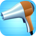 Relaxing hair dryer (sound effect)