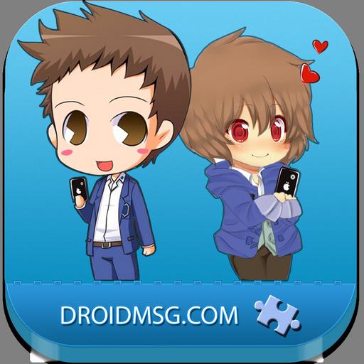Droidmsg web stranica za upoznavanje