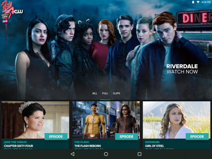 The CW screenshot 5